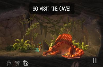 Captura de tela A Caverna no iPhone