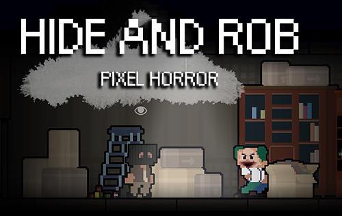 Hide and rob: Pixel horror скриншот 1