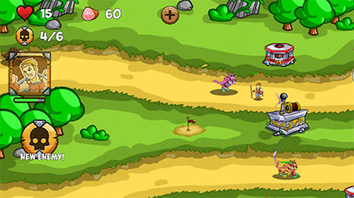 Gods of myth TD: King Hercules son of Zeus für Android