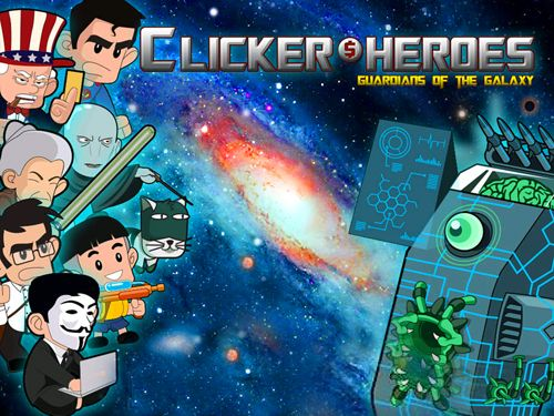 logo Clicker heroes: Guardians of the galaxy