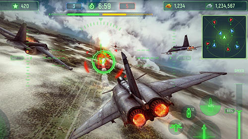 Wings of war: Modern warplanes for Android