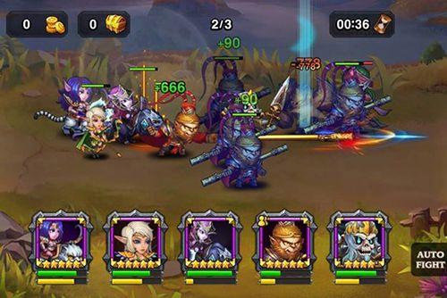 Screenshot Heroes Charge auf dem iPhone