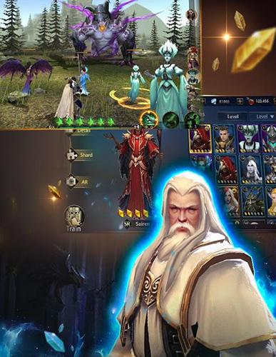 Strategische RPG-Spiele Heroes of COK: Clash of kings auf Deutsch