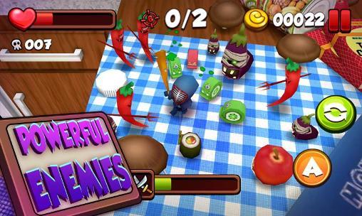 Arcade Kitchen adventure 3D für das Smartphone