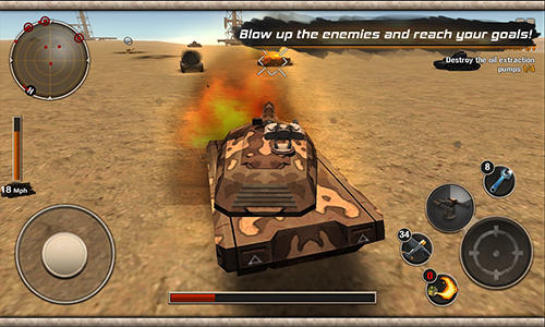 Modern tank force: War hero para Android