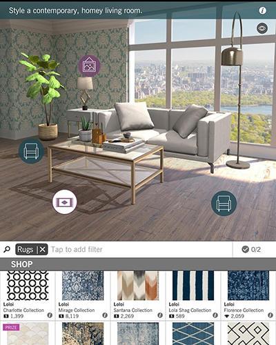 Design home für Android