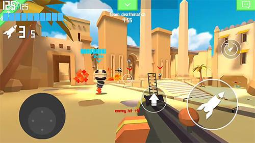 Actionspiele Rocket shock 3D: Alpha für das Smartphone