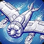 Doodle combat: Army air force planes battle ícone