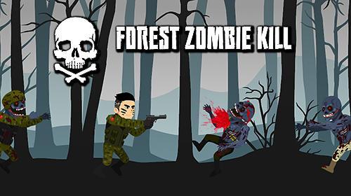 Forest zombie kill icon