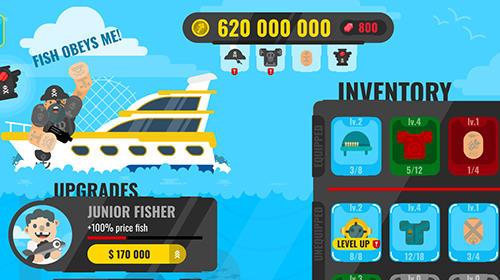 Arcade-Spiele Epic fish master: Fishing game für das Smartphone