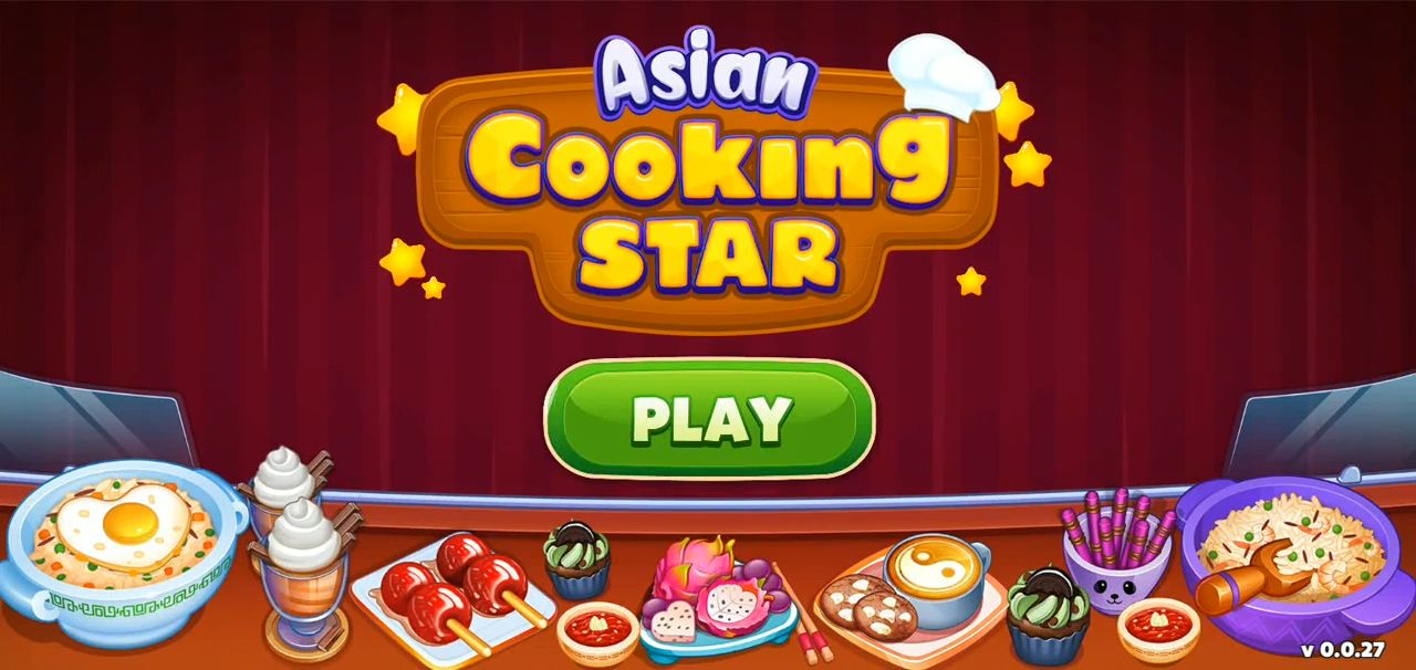 Asian Cooking Star: New Restaurant & Cooking Games captura de tela 1
