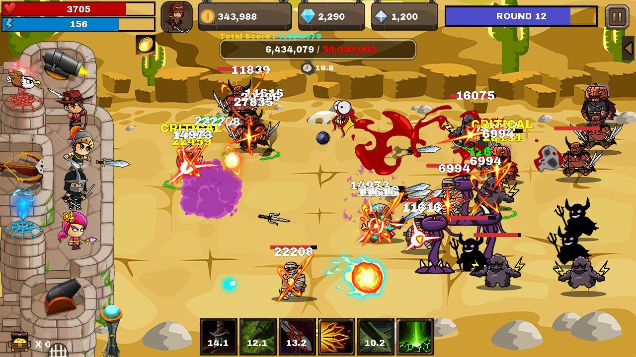 Final Castle : Grow Castle для Android