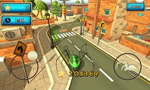 Spider simulator: Amazing city! für Android