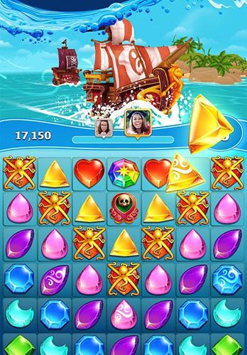 Booty quest: Pirate match 3 Screenshot