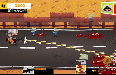 Capture d'écran La Vengeance du fermier: L'Avanture de Zombie sur iPhone