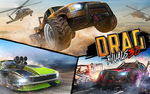 Drag rivals 3D: Fast cars and street battle racing скріншот 1