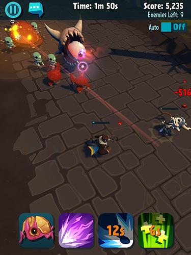 RPG-Spiele Pocket legends adventures für das Smartphone