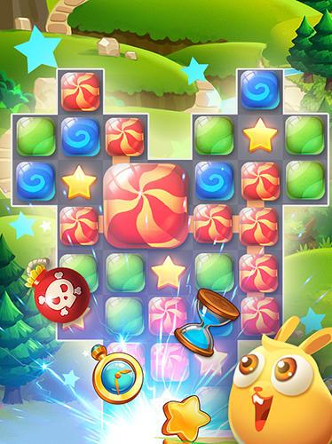 Candy puzzle: Color bubble auf Deutsch