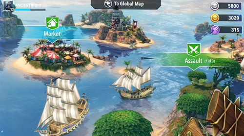 Pirate tales: Battle for treasure für Android
