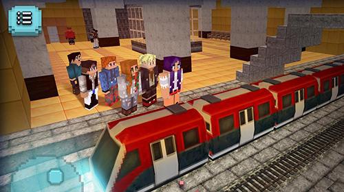 Zugspiele Subway craft: Build and ride auf Deutsch