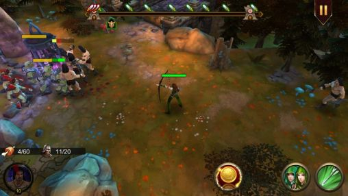 Action Demonrock: War of ages for smartphone