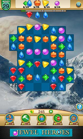 Jewel heroes: Match diamonds para Android