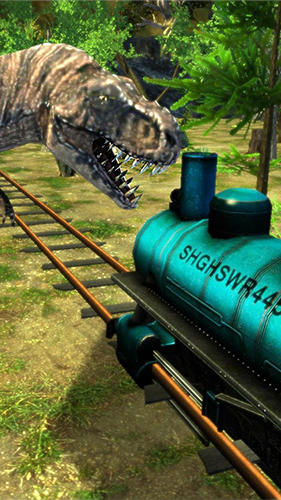 Train simulator: Dinosaur park для Android