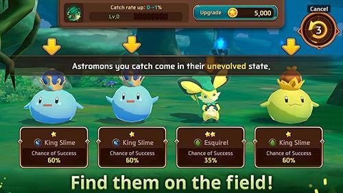 Скриншот Супер лига монстров на андроид