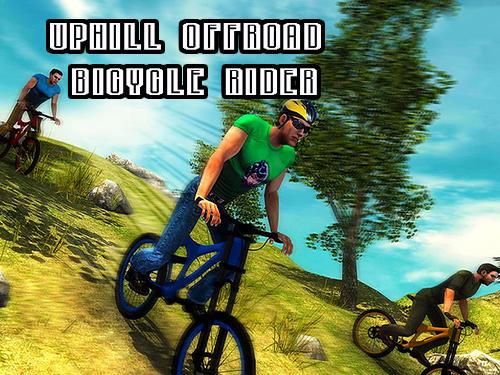 Uphill offroad bicycle rider captura de tela 1