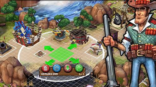 Online Dino wars für das Smartphone