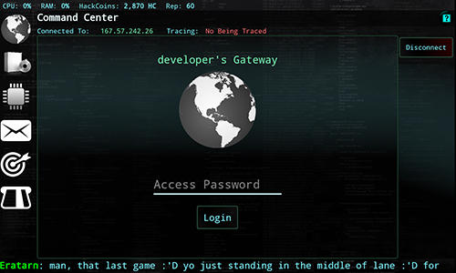 Hackers: Hacking simulator for Android