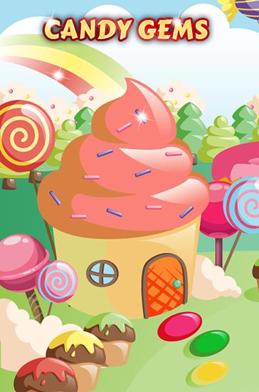 Candy gems and sweet jellies capture d'écran