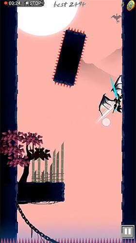 Arcade-Spiele Ninja stickman: Revenge für das Smartphone