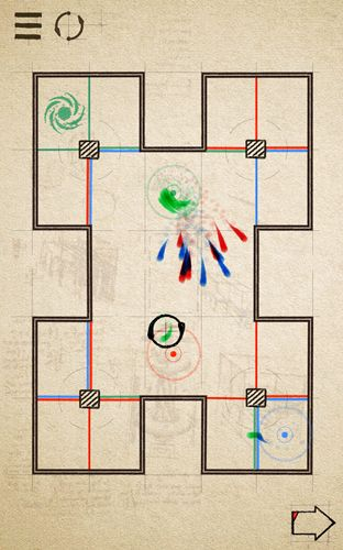 Nimble squiggles for iOS devices