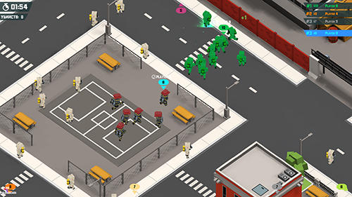 RTS (Real-time strategy) City gangs: San Andreas英语