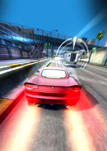 Rennspiele Highway getaway: Chase TV für das Smartphone