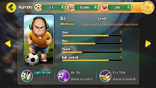 Kung fu feet: Ultimate soccer скріншот 1