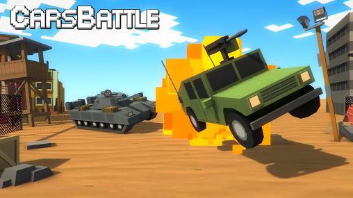 Cars battle captura de tela 1