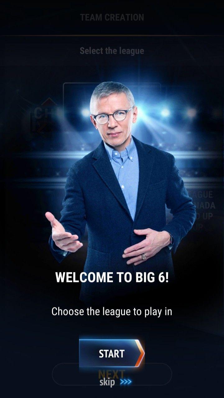 Big6 Hockey Manager скріншот 1