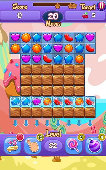 Crush my jelly für Android