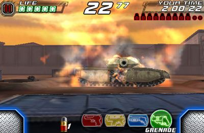 Action games: download Time Crisis 2nd Strike to your phone