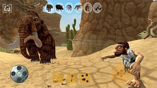 Höhlenmensch-Jäger für iPhone