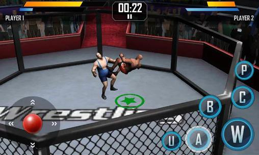 Real wrestling 3D screenshot 1