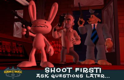 Action games: download Sam & Max Beyond Time and Space Episode 4. Chariots of the Dogs to your phone
