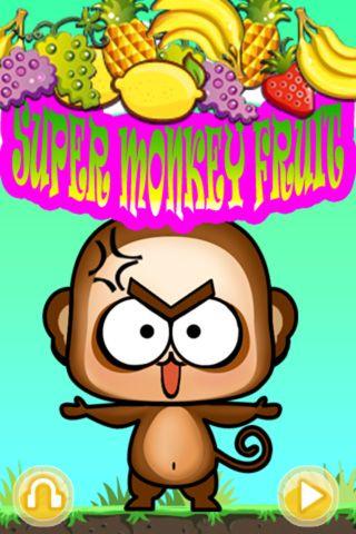 logo Súper mono: Frutas