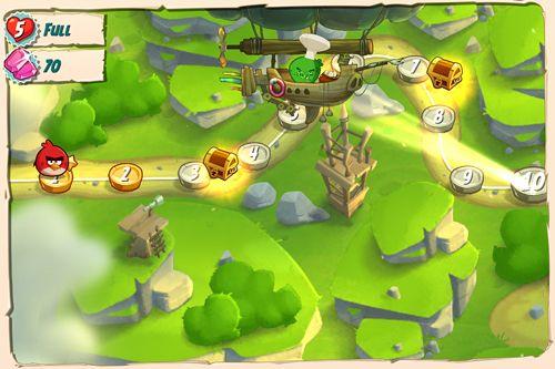 Arcade-Spiele: Lade Angry Birds: Der Schweinebau auf dein Handy herunter