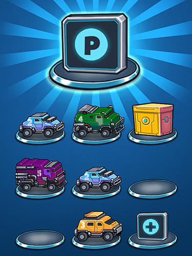 Arcade-Spiele Auto cruise: Idle car merger für das Smartphone