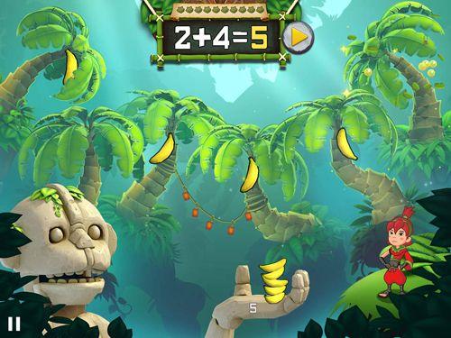 Arcade-Spiele: Lade Frucht Ninja Akademie: Mathe Meister auf dein Handy herunter