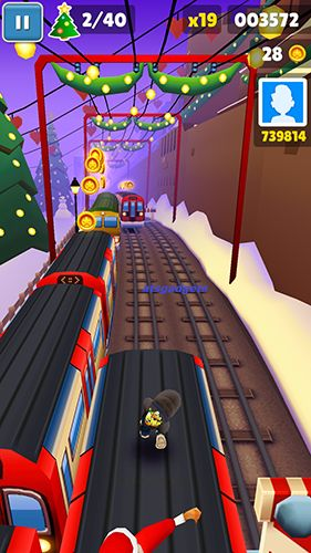 Аркады: скачать Subway surfers: World tour London на телефон