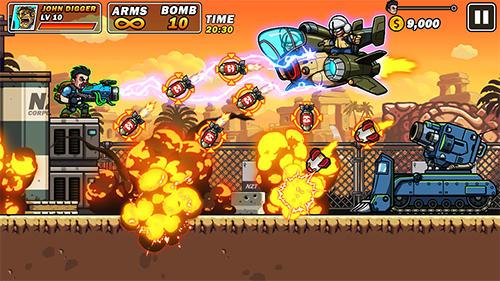 Platform games Gun brothers in English